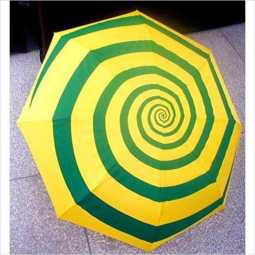 Hypnotic Umbrella-Luggage - www.Gifteee.com - Cool Gifts \ Unique Gifts - The Best Gifts for Men, Women and Kids of All Ages