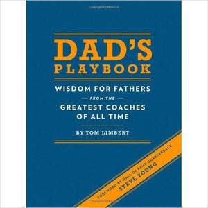 Dad's Playbook: Wisdom for Fathers from the Greatest Coaches of All Time - Gifteee. Find cool & unique gifts for men, women and kids