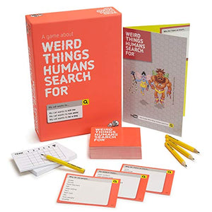 Weird Things Humans Search: Adult Party Game