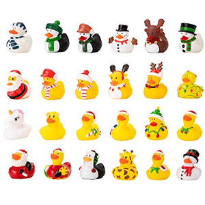 Rubber Ducks Christmas 24 Days Countdown Advent Calendar
