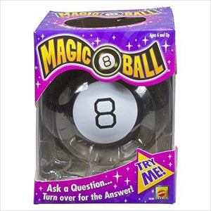 Magic 8 Ball-Toy - www.Gifteee.com - Cool Gifts \ Unique Gifts - The Best Gifts for Men, Women and Kids of All Ages