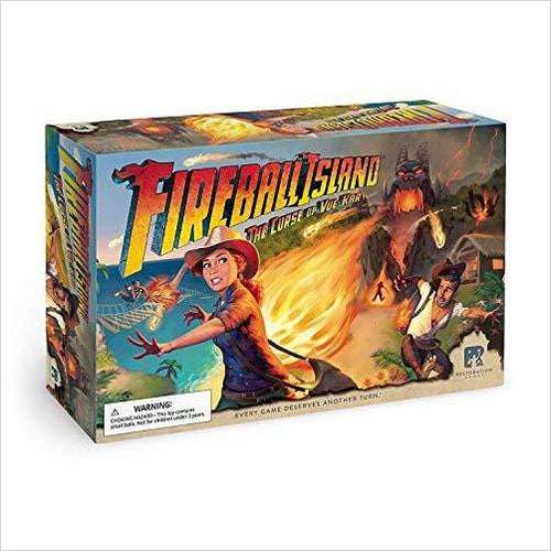 Fireball Island: The Curse of Vul Kar-Toy - www.Gifteee.com - Cool Gifts \ Unique Gifts - The Best Gifts for Men, Women and Kids of All Ages
