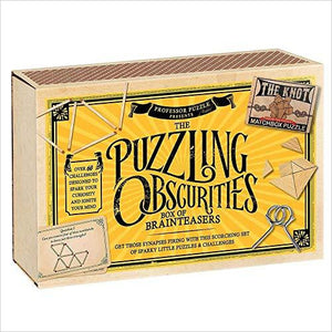 The Emporium Puzzling Obscurities-Toy - www.Gifteee.com - Cool Gifts \ Unique Gifts - The Best Gifts for Men, Women and Kids of All Ages