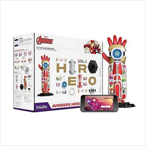Avengers Hero Inventor Kit (18 Piece) - Find unique gifts for superhero fans, the avengers, DC, marvel fans all super villians and super heroes gift ideas, games collectibles and gadgets at Gifteee Cool gifts, Unique Gifts for comic book fans