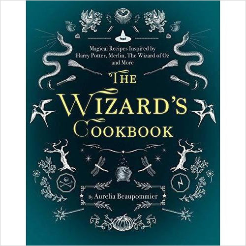 The Wizard's Cookbook - Find unique gifts that will get you kids eating well and eating healthy with unique foodie gifts for kids dinner and the kitchen at Gifteee Cool gifts, Unique Gifts that will make kids enjoy eating