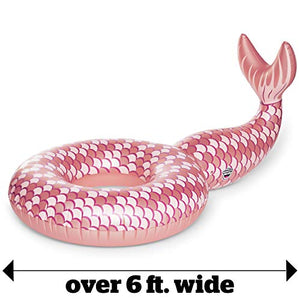 Giant Mermaid Tail Pool Float - 5 Foot-Toy - www.Gifteee.com - Cool Gifts \ Unique Gifts - The Best Gifts for Men, Women and Kids of All Ages