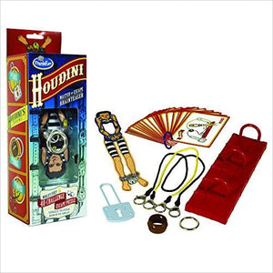 Houdini Brainteaser Game-Toy - www.Gifteee.com - Cool Gifts \ Unique Gifts - The Best Gifts for Men, Women and Kids of All Ages
