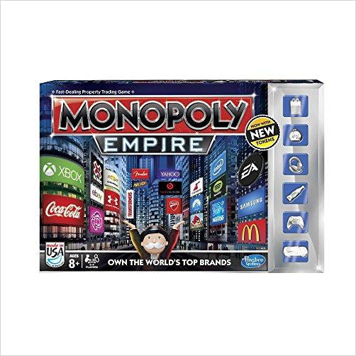 Monopoly Empire Game-Toy - www.Gifteee.com - Cool Gifts \ Unique Gifts - The Best Gifts for Men, Women and Kids of All Ages