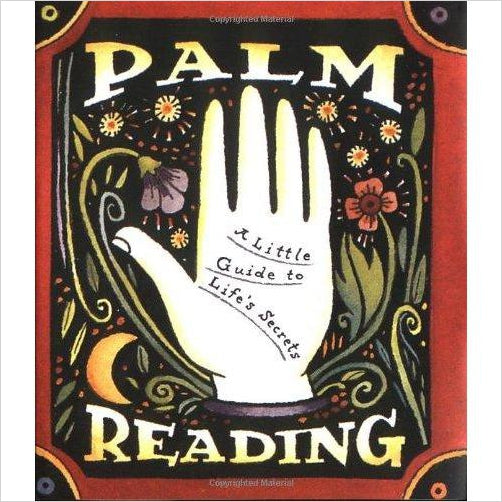 Palm Reading: A Little Guide To Life's Secrets - Find scary gifts for Halloween, disgusting gifts for horror, weird gifts for oddity lovers and some firefighting special effects lovers at Gifteee Cool gifts, Unique Gifts for Halloween