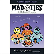 Camp Daze Mad Libs-card game - www.Gifteee.com - Cool Gifts \ Unique Gifts - The Best Gifts for Men, Women and Kids of All Ages