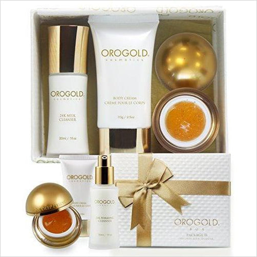 Cosmetics 24K Gold Luxury Package-Beauty - www.Gifteee.com - Cool Gifts \ Unique Gifts - The Best Gifts for Men, Women and Kids of All Ages
