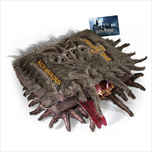 Harry Potter Monster Book of Monsters Collector Plush - Gifteee. Find cool & unique gifts for men, women and kids