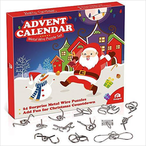 wire puzzle toys advent calendar 2019 gifteee. Black Bedroom Furniture Sets. Home Design Ideas