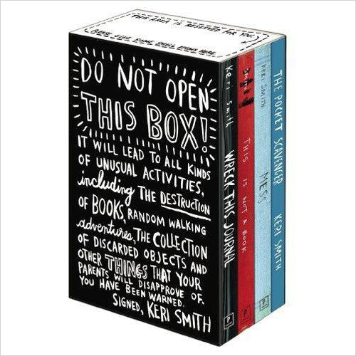Keri Smith Deluxe Boxed Set-keri smith set - www.Gifteee.com - Cool Gifts \ Unique Gifts - The Best Gifts for Men, Women and Kids of All Ages