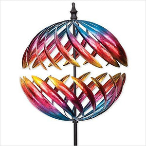 Jupiter Wind Spinner-Lawn & Patio - www.Gifteee.com - Cool Gifts \ Unique Gifts - The Best Gifts for Men, Women and Kids of All Ages