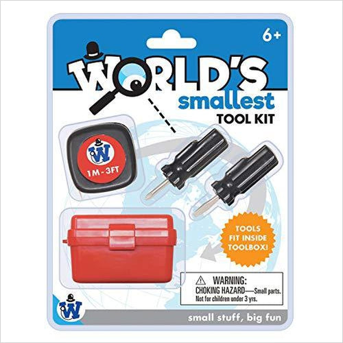 World's Smallest Tool Kit-Home - www.Gifteee.com - Cool Gifts \ Unique Gifts - The Best Gifts for Men, Women and Kids of All Ages