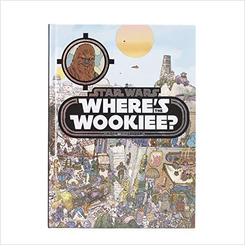 Star Wars Where's The Wookiee?  (Star Wars: Look and Find) - Gifteee. Find cool & unique gifts for men, women and kids