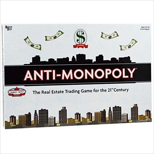 Anti-Monopoly-Toy - www.Gifteee.com - Cool Gifts \ Unique Gifts - The Best Gifts for Men, Women and Kids of All Ages