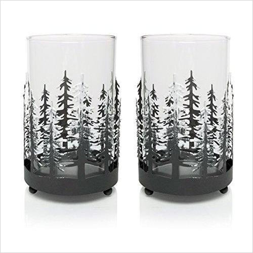 Winter Trees Candle Holders-Home - www.Gifteee.com - Cool Gifts \ Unique Gifts - The Best Gifts for Men, Women and Kids of All Ages