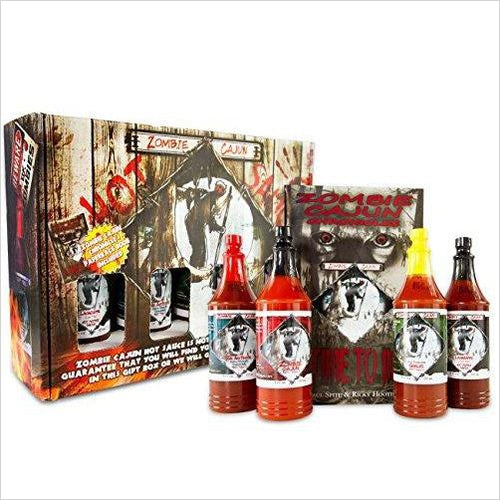 Hot Sauce Gift Set-Grocery - www.Gifteee.com - Cool Gifts \ Unique Gifts - The Best Gifts for Men, Women and Kids of All Ages