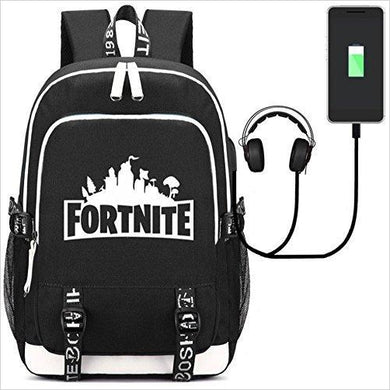 Fortnite Backpack with USB Charging Port