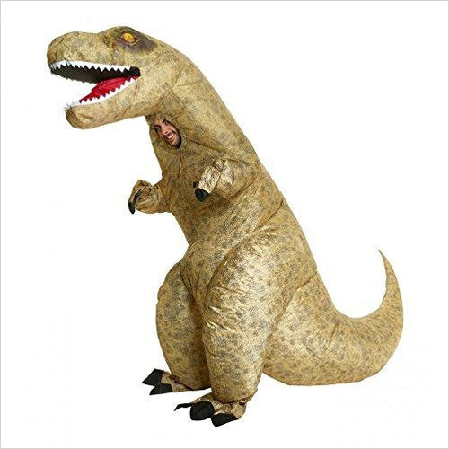 Giant T-rex Dinosaur Inflatable Costume-Apparel - www.Gifteee.com - Cool Gifts \ Unique Gifts - The Best Gifts for Men, Women and Kids of All Ages