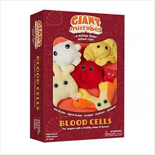 Blood Cells Plush Toys-Toy - www.Gifteee.com - Cool Gifts \ Unique Gifts - The Best Gifts for Men, Women and Kids of All Ages