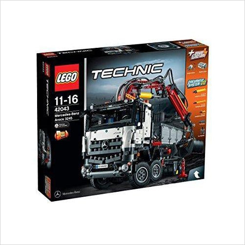 Lego Technic Mercedes Benz Arocs 3245 Truck - Find unique gifts for boys age 5-11 year old, gifts for your son, gifts for your kids birthday or Christmas, gifts for you children classmates and friends at Gifteee Unique Gifts, Cool gifts for boys