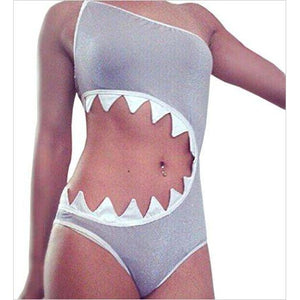 Shark's Mouth Swimsuit - Find unique gifts for teen girl and young women age 12-18 year old, gifts for your daughter, gifts for a teenager birthday or Christmas at Gifteee Unique Gifts, Cool gifts for teenage girls