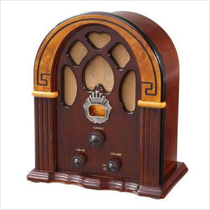 Retro AM/FM Radio-Speakers - www.Gifteee.com - Cool Gifts \ Unique Gifts - The Best Gifts for Men, Women and Kids of All Ages