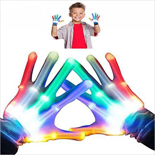 Flashing Gloves - Find birthday unique party accessories and cool birthday party supplies and also birthday party games for kids and adults at Gifteee Unique Gifts, Cool gifts for kids of all ages