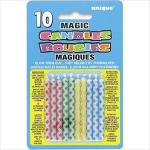 Magic Relighting Trick Birthday Candles - Find funny gift ideas, the best gag gifts, gifts for pranksters that will make everybody laugh out loud at Gifteee Cool gifts, Funny gag Gifts for adults and kids