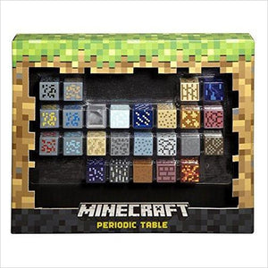 Minecraft Periodic Table of Elements-Toy - www.Gifteee.com - Cool Gifts \ Unique Gifts - The Best Gifts for Men, Women and Kids of All Ages