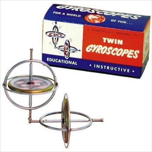 Gyroscope Twin Pak-Toy - www.Gifteee.com - Cool Gifts \ Unique Gifts - The Best Gifts for Men, Women and Kids of All Ages