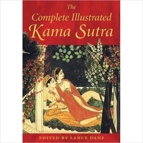 The Complete Illustrated Kama Sutra - Gifteee - Best Gift Ideas for Parents and Kids