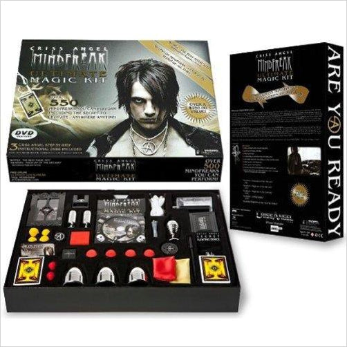 Criss Angel Ultimate Magic Kit - Find unique gifts for teen girl and young women age 12-18 year old, gifts for your daughter, gifts for a teenager birthday or Christmas at Gifteee Unique Gifts, Cool gifts for teenage girls