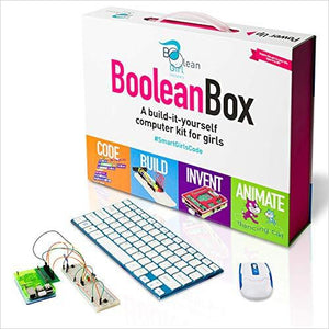 Boolean Box | A STEM Educational Computer Kit | For girls-Toy - www.Gifteee.com - Cool Gifts \ Unique Gifts - The Best Gifts for Men, Women and Kids of All Ages