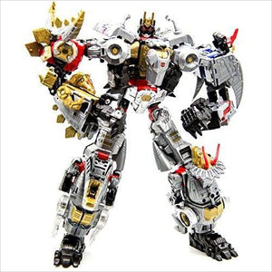 Transformers: Generations Power of the Primes VOLCANICUS Combiner Dinobots (Grimlock, Swoop, Sludge, Snarl, Slug)-Toy - www.Gifteee.com - Cool Gifts \ Unique Gifts - The Best Gifts for Men, Women and Kids of All Ages