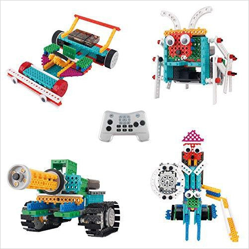 Ingenious Machines Remote Control Building Kits - Gifteee. Find cool & unique gifts for men, women and kids