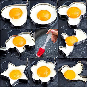 Fried Egg Molds-Kitchen - www.Gifteee.com - Cool Gifts \ Unique Gifts - The Best Gifts for Men, Women and Kids of All Ages