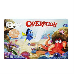 Operation Game: Disney-Pixar Finding Dory Edition - Find unique gifts for a newborn baby and cool gifts for toddlers ages 0-4 year old, gifts for your kids birthday or Christmas, special baby shower gifts and age reveal gifts at Gifteee Unique Gifts, Cool gifts for babies and toddlers