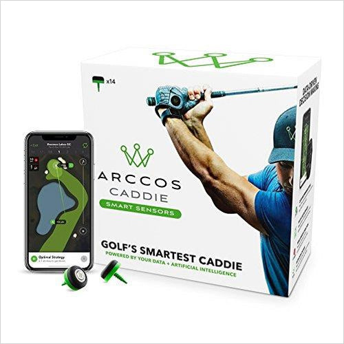 Golf Caddie Smart Sensors - Find the newest innovations, cool gadgets to use at home, at the office or when traveling. amazing tech gadgets and cool geek gadgets at Gifteee Cool gifts, Unique Tech Gadgets and innovations