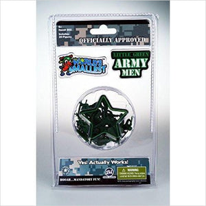 Worlds Smallest Little Green Army Men-Toy - www.Gifteee.com - Cool Gifts \ Unique Gifts - The Best Gifts for Men, Women and Kids of All Ages