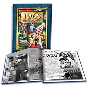 50th Birthday Gift Idea -1969 What A Year it Was-book - www.Gifteee.com - Cool Gifts \ Unique Gifts - The Best Gifts for Men, Women and Kids of All Ages