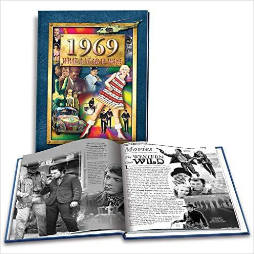 50th Birthday Gift Idea 1969 What A Year It Was Book
