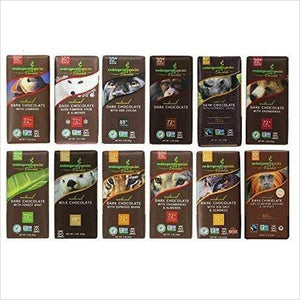 Endangered Species Chocolate Variety Pack 12 Flavors-Grocery - www.Gifteee.com - Cool Gifts \ Unique Gifts - The Best Gifts for Men, Women and Kids of All Ages