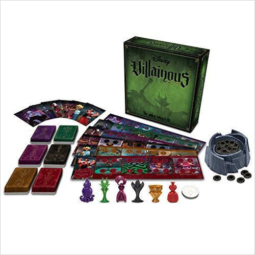 Disney Villainous Strategy Board Game-Toy - www.Gifteee.com - Cool Gifts \ Unique Gifts - The Best Gifts for Men, Women and Kids of All Ages