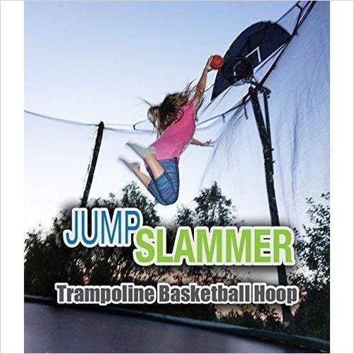 Trampoline Basketball Hoop - Find the perfect gift for a sport fan, gifts for health fitness fans at Gifteee Cool gifts, Unique Gifts for wellness, sport and fitness