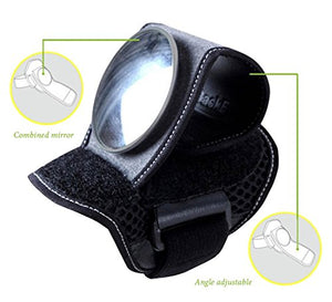 Bicycle Rear View Wristbands Mirror