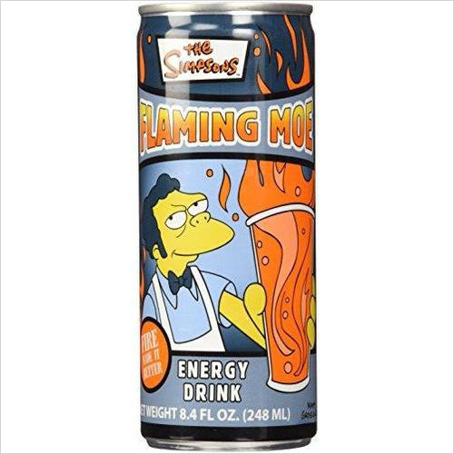 The Simpsons Flaming Moe Energy Drink-drink - www.Gifteee.com - Cool Gifts \ Unique Gifts - The Best Gifts for Men, Women and Kids of All Ages
